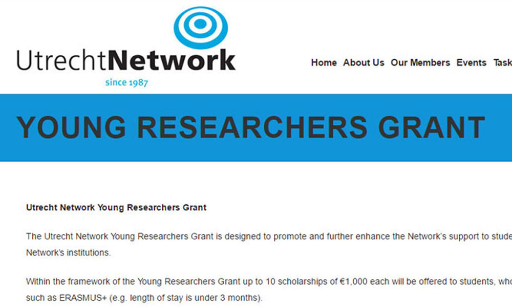 Utrecht Network Young Researchers Grant