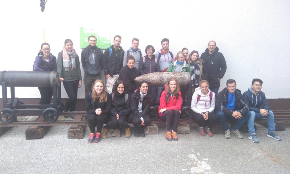 Hiking trip for international students