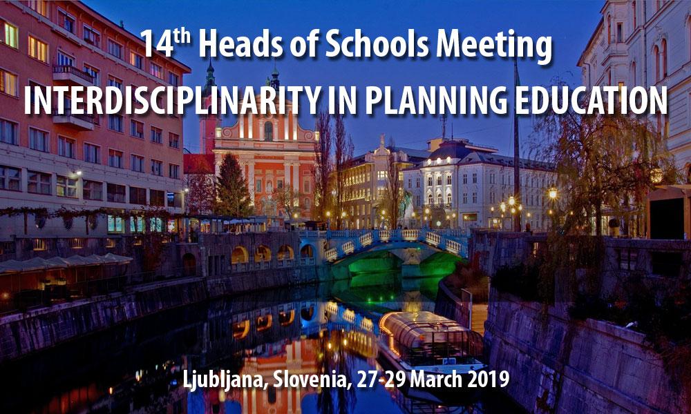 14th AESOP Head of Schools meeting in Ljubljana