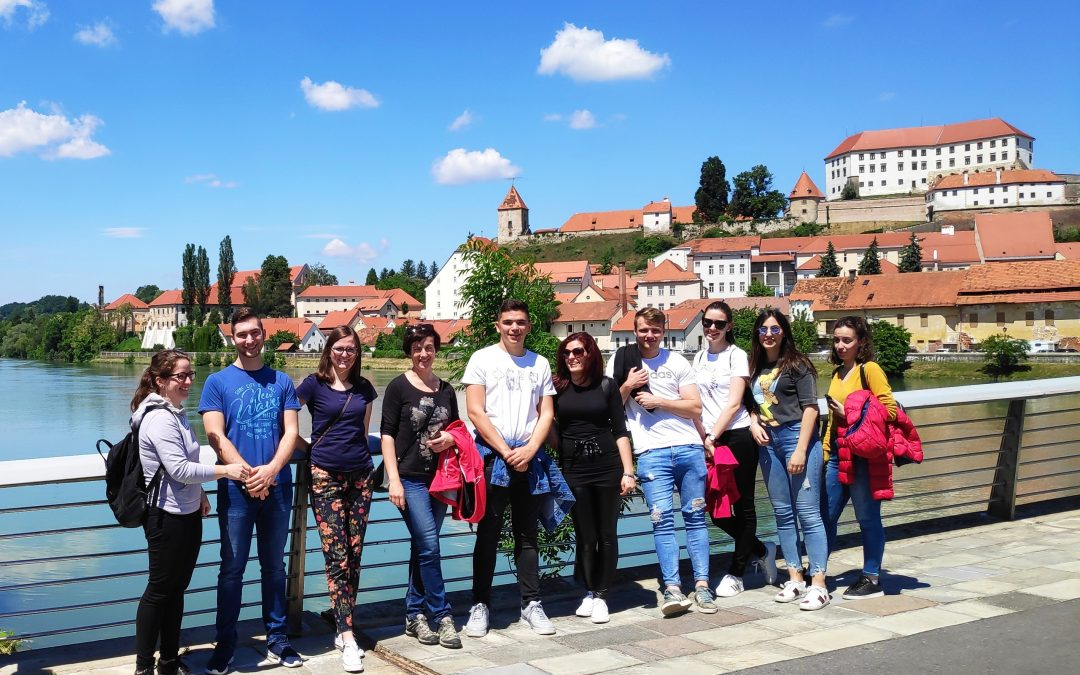Excursion to Ptuj for student of geodesy and geoinformatics