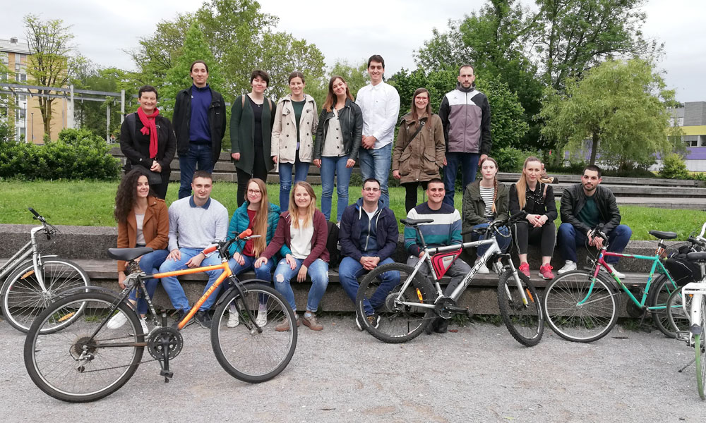 A visit to our faculty by students and professors from the University of Belgrade
