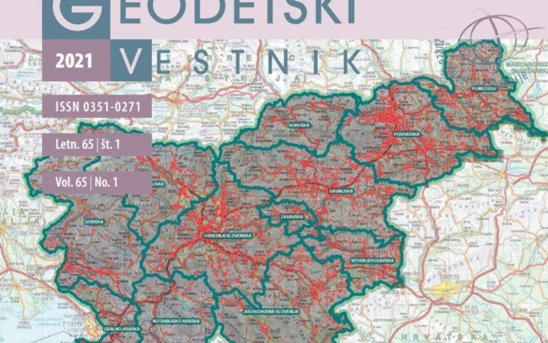 A new issue of Geodetski vestnik is available!
