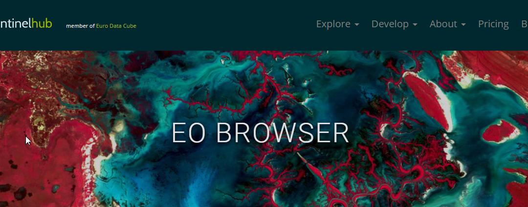 EO Browser speaks Slovenian